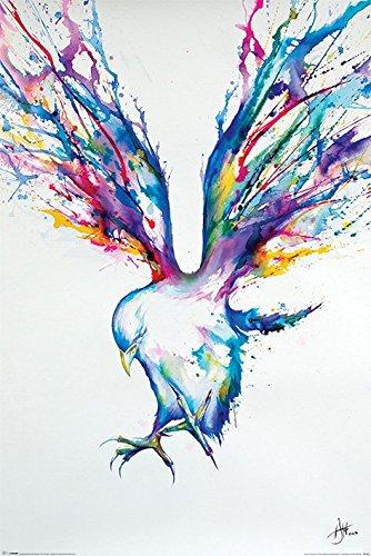 """Marc Allante """"Bird Maxi Poster, multicolore"""