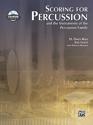 Scoring for Percussion: Book & CD-ROM