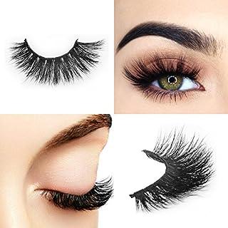 Arison Lashes 1 paar Arison Lashes Falsche Wimpern 3D lang Dicke Dramatisch Aussehende 100% Handgefertigt f¨¹r Make-up