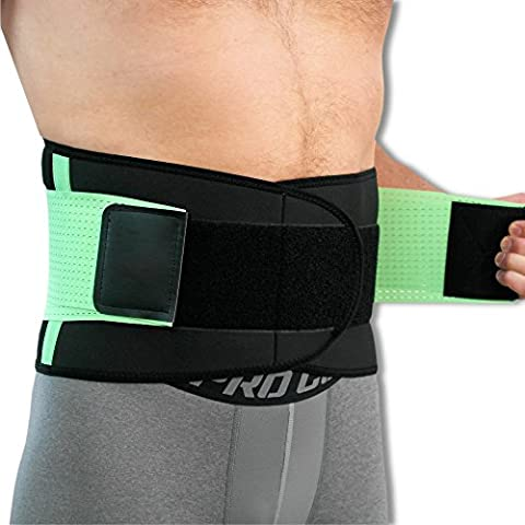 NeoPhysio Advanced Breathable Lower Back Support Belt, Great for Active
