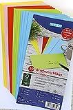 200 (10x 20Stk) farbige Briefumschläge Din lang Kuvert