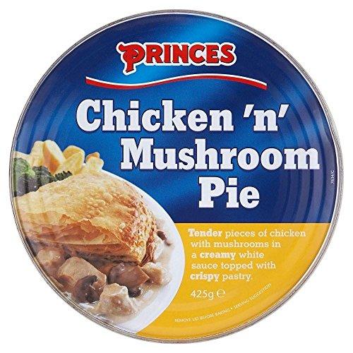 Princes poulet et tarte aux champignons (425g) - Paquet de 2