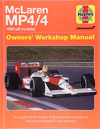 Mclaren Mp4/4 Owners' Workshop Manual: An insight into the design, engineering, maintenan por Haynes Publishing