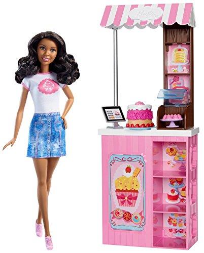 Barbie Careers Bakery Shop Doll & Playset, Brunette