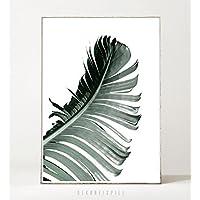 Kunstdruck / Poster JUNGLE N°2 -ungerahmt- Palme, Wedel, tropisch, Natur, Pflanze, Blatt