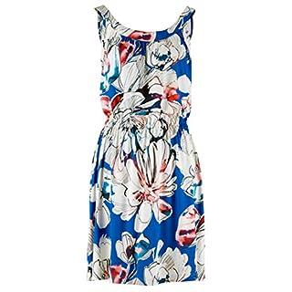 Alba Moda Damen Strandkleid Single Jersey in Aquarelloptik 44
