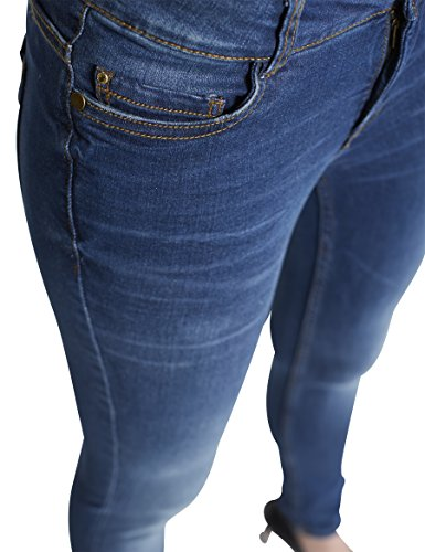 Colorado Denim, Jeans Donna Blau (Mid Night 833)