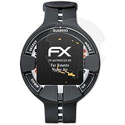 atFoliX Film Protecteur pour Suunto Vyper Air Film Protection d'écran - 3 x FX-Antireflex-HD antireflets Haute résolution Protecteur d'écran