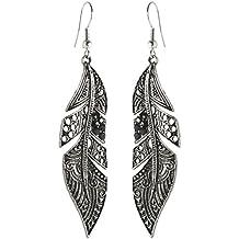 Ohrringe schwarz  Suchergebnis auf Amazon.de für: Ohrringe lang schwarz silber