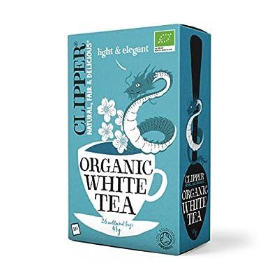 Clipper Tea–Bio–Thé Blanc–50Sachets de thé non blanchi G (26)