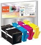 Peach H920XL Spar Pack Druckerpatronen mit Chip kompatibel zu HP No. 920XL