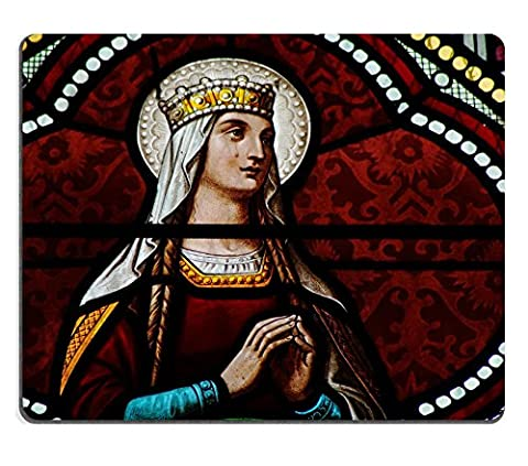 MSD Natural Rubber Gaming Mousepad IMAGE ID: 31535720 Stained glass window in Our Lady of Nativity