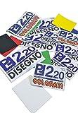 takestop ALBUM DA DISEGNO PICARTA FABRIANESE PF220 FOGLIO colorati COLORATO COLORE CARTONCINO 24x33CM 20 FOGLI