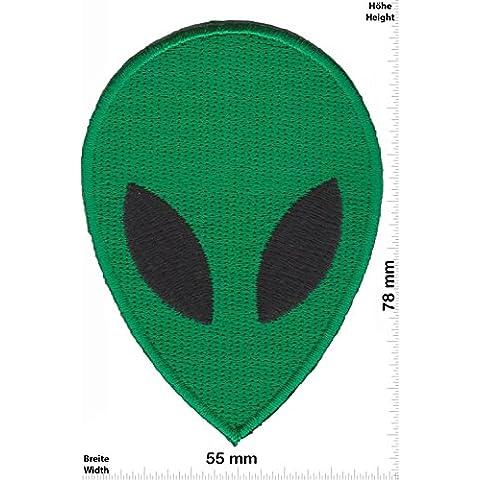Patch - Green Alien - Head -