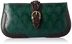 Holii Womens Clutch (Emer Grn Brn)