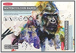Derwent A3 Watercolour Paper Pad, 12 Sheets