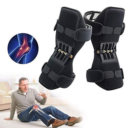 zcm-power ginocchiere da esterni, edizione migliorata per dolori al ginocchio, supporto più morbido e spesso, per lavoro, sport, giardinaggio, ginocchiera per legamenti per uomo e donna