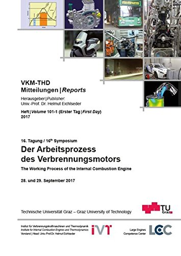 16. Tagung Der Arbeitsprozess des Verbrennungsmotors: 16th Symposium The Working Process of the Internal Combustion Engine, 28.-29. September 2017 (VKM-THD Mitteilungen) -