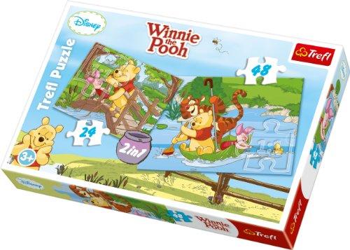 Disney Trefl 2-in-1Puzzle Wasser Fun (Holz Puzzle Disney)