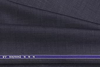 Raymond Men's Poly Viscose Unstitched Suit Fabric Blue_3 metres