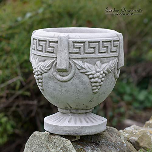 One fold – Steinranken-Blumentopf, kleine Vase/Garten-Ornament/Haus Terrasse Wintergarten Dekoration