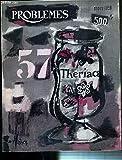problemes n? 57 mars 1959 therap d autrefois les buveurs de sang l apothicairerie des sorciers par dr a garrigues l onguent des sorcieres par dr a garrigues zootherapie par dr a garrigues la bile en therapeutique par dr a garrigues