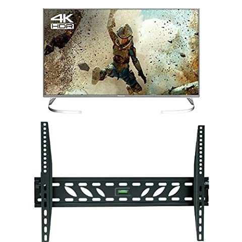 Panasonic TX-40EX700B 40-Inch 4K Ultra HD Smart LED TV with Invision Wall Mount Bracket
