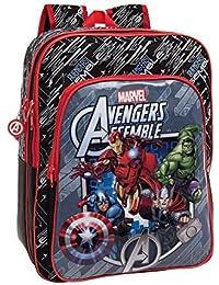 Mochila Vengadores Avengers Marvel Assemble adaptable grande