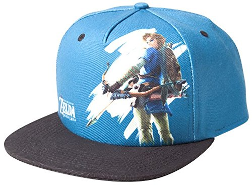 The Legend of Zelda Breath of The Wild - Link with Bow Snapback Cap Multicolour