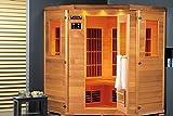 Lars 4Topline-Cabina de infrarrojos Sauna 2000W