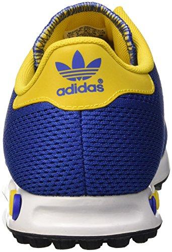 adidas Unisex-Erwachsene La Trainer Em Sneaker Blau (BOLD Blue/Eqt Yellow/Ftwr White)