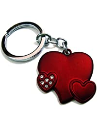 (KEY00136) Heart Shape Love Keychain For Him & Her Best Collectible & Gift Item