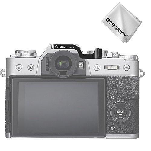First2savvv DSLR-Digitalkamera Metall Daumengriff für Fujifilm X-T20 XT20 mit 18-55 Lens -XJPJ-ZB-XT20-01