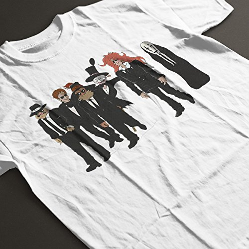 Studio Ghibli Reservoir Dogs Women's T-Shirt White