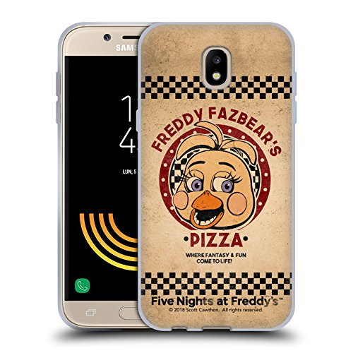 Official Five Nights At Freddy's Toy Chica Freddy Fazbear's Pizza Soft Gel Case for Samsung Galaxy J5 (2017)