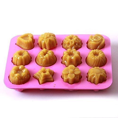 Stampo in silicone per torte con 12 cavità
