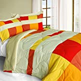 Best Sets Croscill Couette - [Charming Bedford] matelassé patchwork Duvet Alternative Couette, Microfibre Review