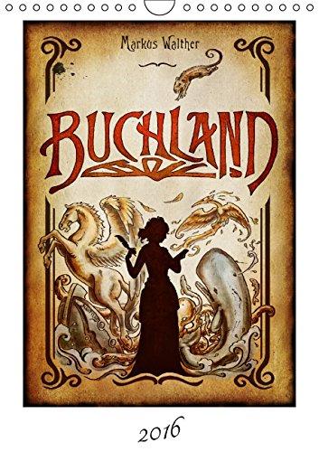 Buchseite und Rezensionen zu 'Buchland - Der Kalender zum Roman' von Markus Walther