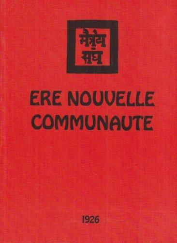 Ere Nouvelle Communaute