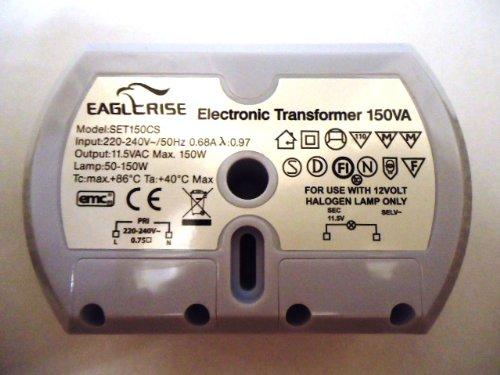 EAGLERISE SET150CS ELECTRONIC TRANSFORMER - 1 YEAR GUARANTEE by CS Range -