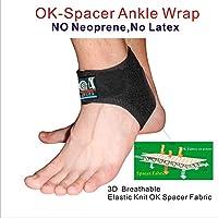 IRUFA 3D Atmungsaktive fußbandage Sprunggelenkbandage Fußgelenkbandage preisvergleich bei billige-tabletten.eu