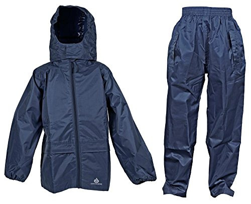 Dry Kids jacket and trouser set navy blue 7/8yrs