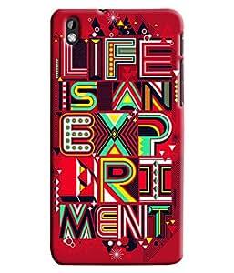 Expert Deal Best Quality 3D Printed Hard Designer Back Cover For HTC Desire 816
