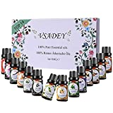 Best Blends Set Of 6 100 Pure Therapeutic Grade Essential Oil - 6 10mls - Vsadey Essential Oils Set 100% Pure Therapeutic Grade Review