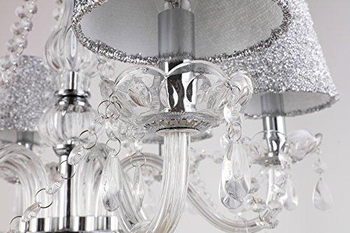 Plafoniere In Cristallo A Soffitto : Lampada da soffitto lampadario regolabile in altezza plafoniere