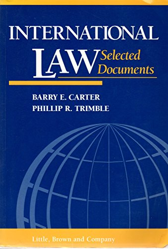 International Law: Selected Documents (Supplement)