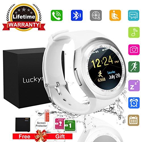 Bluetooth-Smart-Watch-Phone-Touchscreen-Armbanduhr-Handy-uhr-Sport