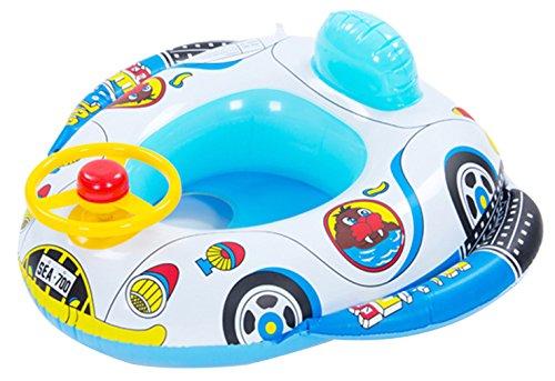 Binse Baby Schwimmring Aufblasbarer Float Auto Schwimmhilfe Schwimmreifen für Pool, Strand oder Schwimmbad Farbe 1