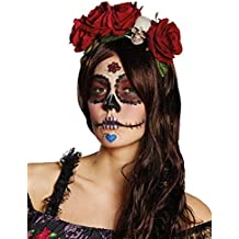 Headress Mexican La Catrina wih Roses