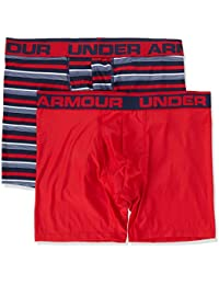 Under Armour Original 6In 2 Pack Novlty Ropa Interior, Hombre, Azul, S